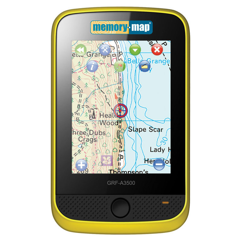 Memory Map Adventurer 3500 Marine Plus