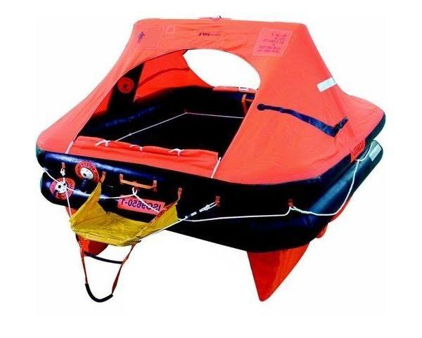 Ocean Safety Charter ISO 9650 SOLAS-B Liferaft 4 man valise