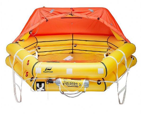Plastimo Transocean ISO 9650 Liferaft Type-1 4 man container